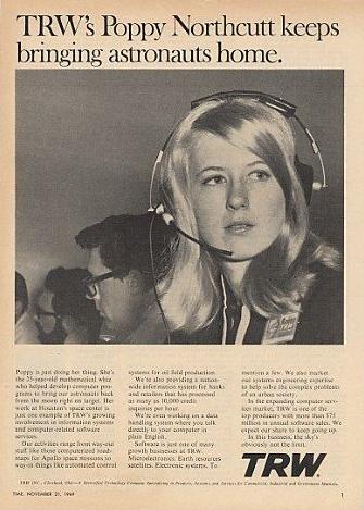 Poppy Northcutt et les femmes du programme Apollo Pop10
