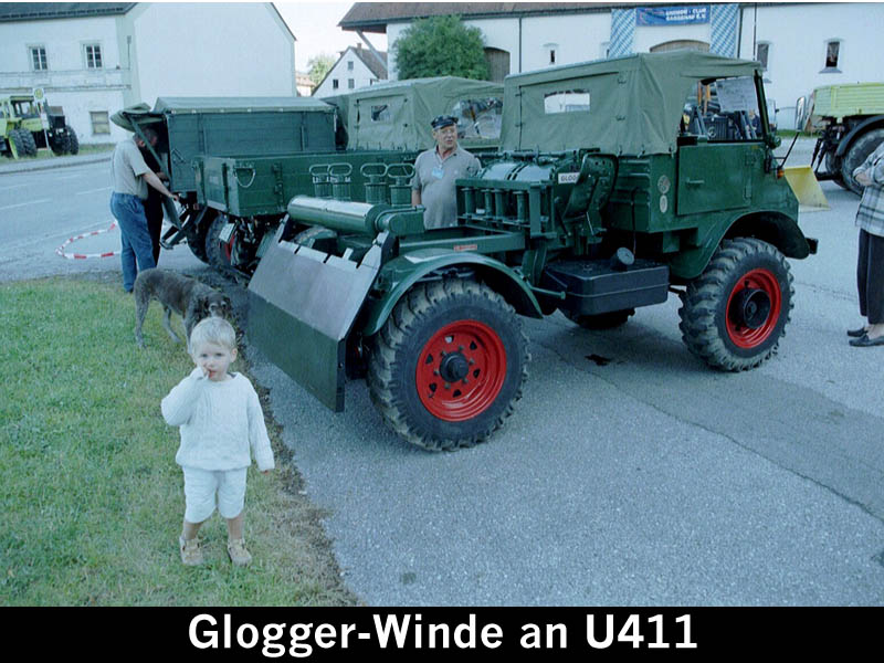 unimog mb-trac wf-trac pour utilisation forestière dans le monde Glogge10