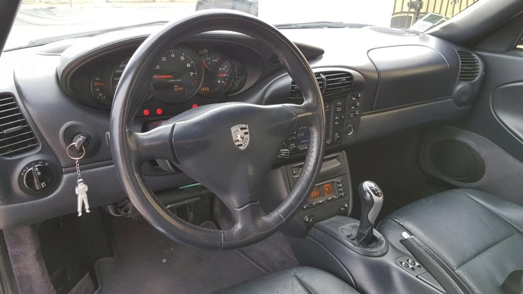 Vends 996 3.4 Cab 1999 Int210