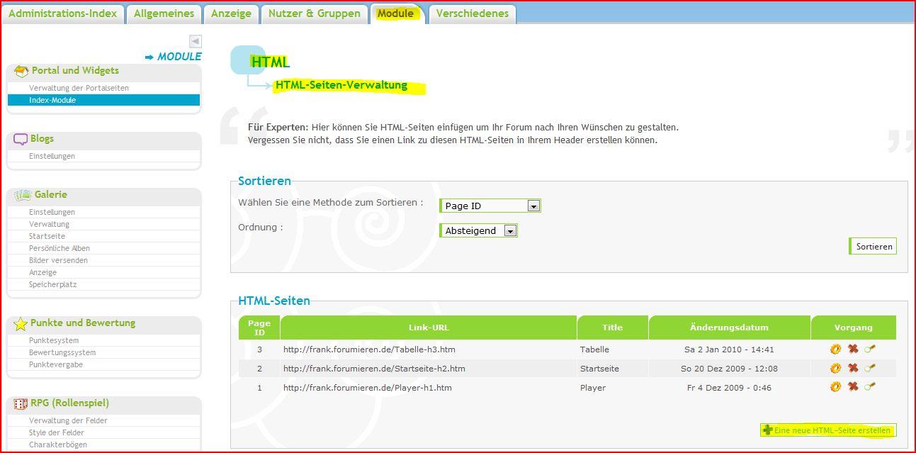 HTML seite erstellen A11130