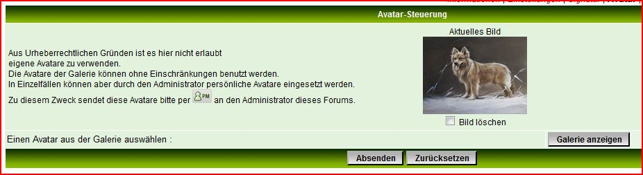 [alle Versionen außer phpBB3 und Invision] Avatar Verwaltung A1195