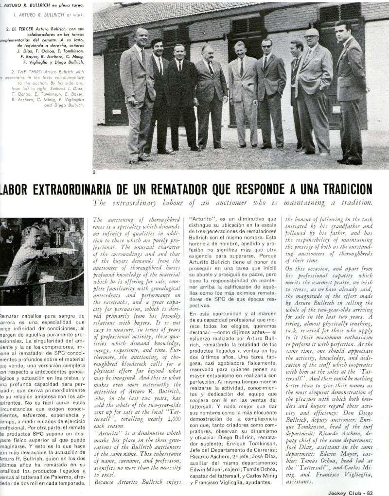 REVISTA JOCKEY CLUB - Marzo 1969 N° 10 Img12210
