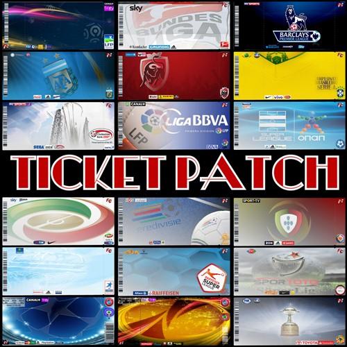 International Ticket Patch Fond_310