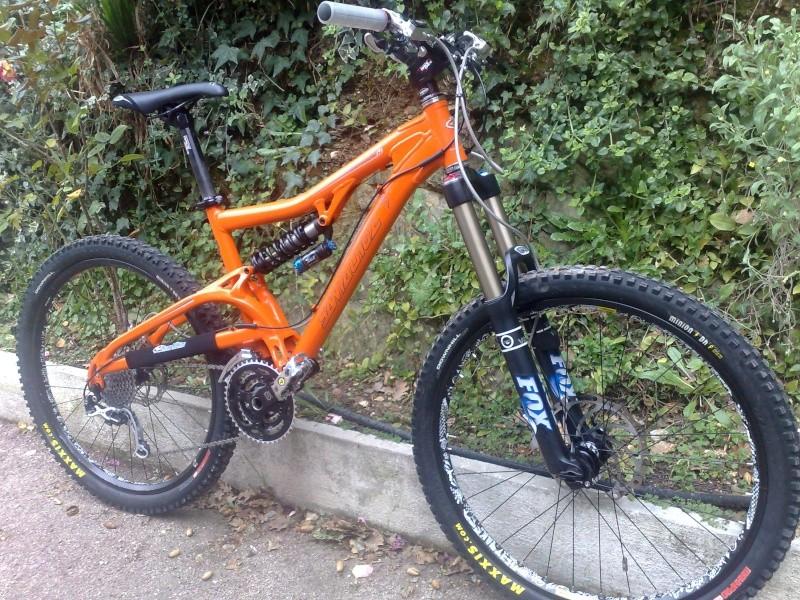 Mon nouveau bike 18122010