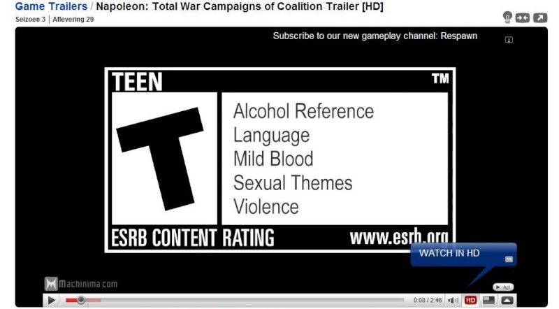 Napoleon Total War:  Sexual? Rated_10