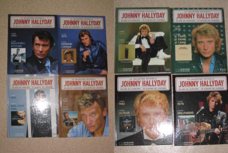 JOHNNY HALLYDAY cd collection officielle Img_4110