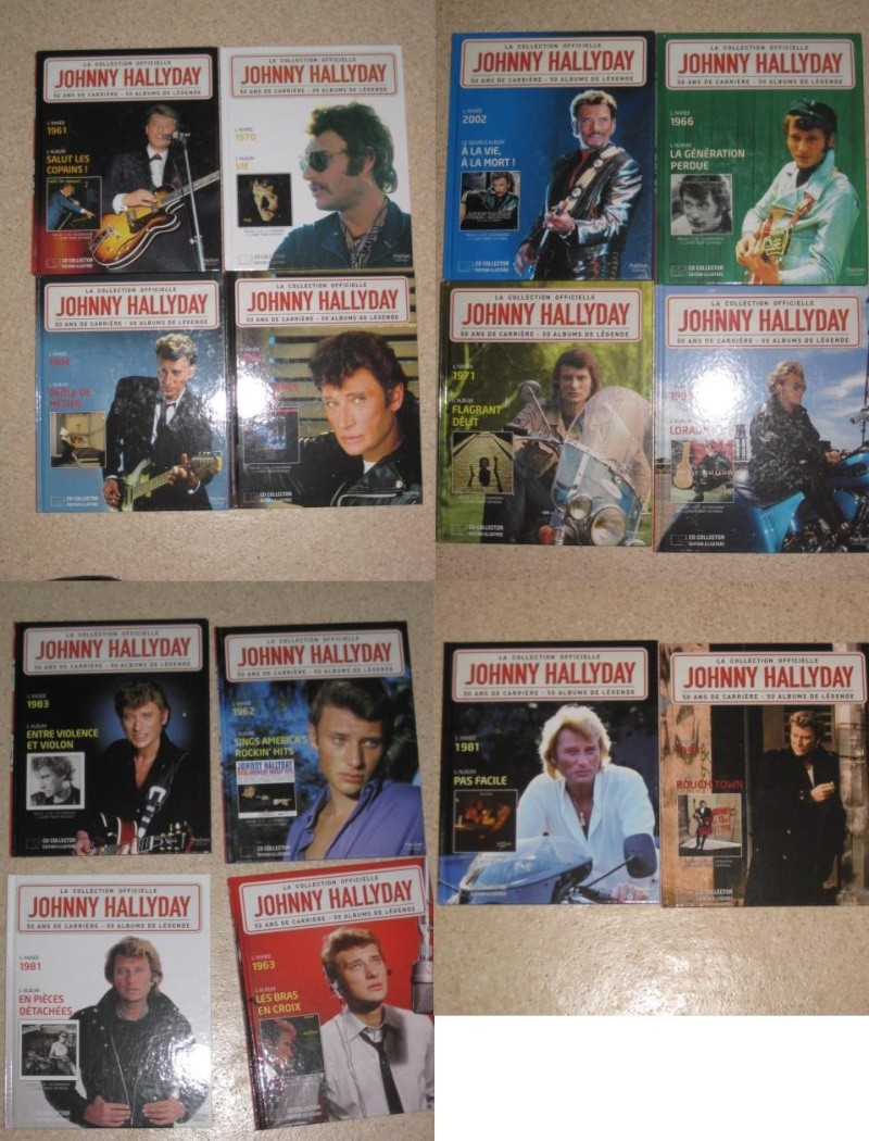 JOHNNY HALLYDAY cd collection officielle Img_4111