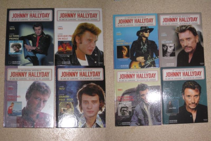 JOHNNY HALLYDAY cd collection officielle Img_4210