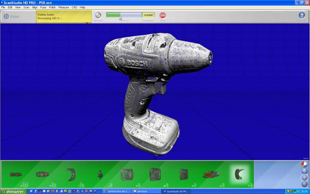 nextengine - [Scanner 3D] NextEngine HD présentation et essais. 1410