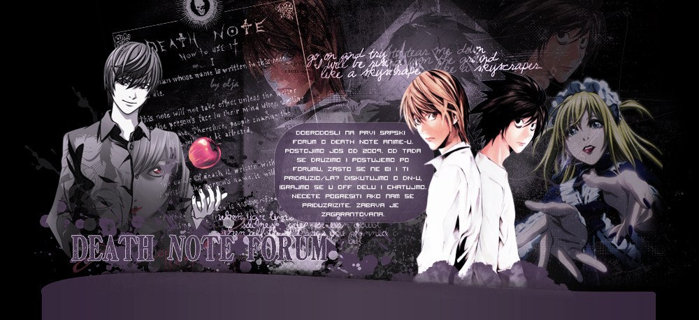 Death Note Serbia
