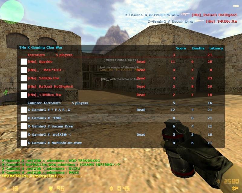 X-Gaming vs [iNs] [W] Ins1_b10