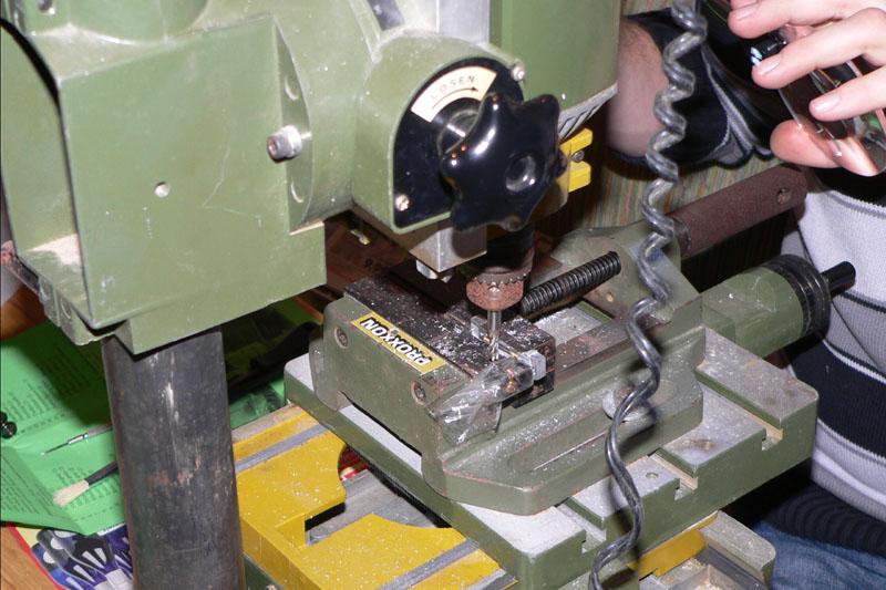 Eine kleine O&K Feldbahndiesellok entsteht Frasen10