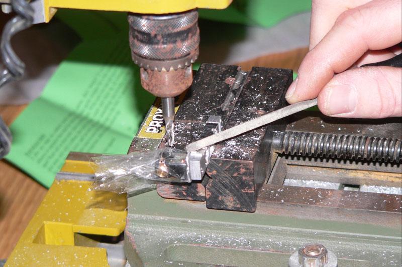 Eine kleine O&K Feldbahndiesellok entsteht Frasen11