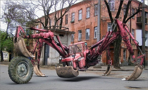 EVIL TRACTOR!!! 120
