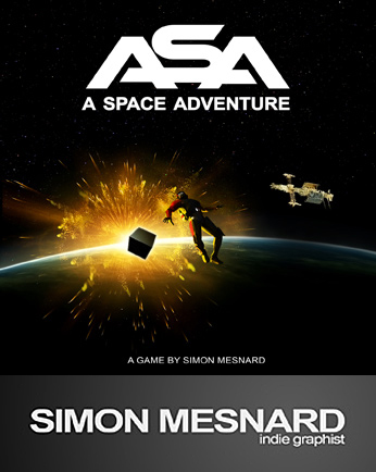 ASA : A Space Adventure . . . . An excellent looking Adventure game from French indie developer, Simon  Mesnard Asa-co10