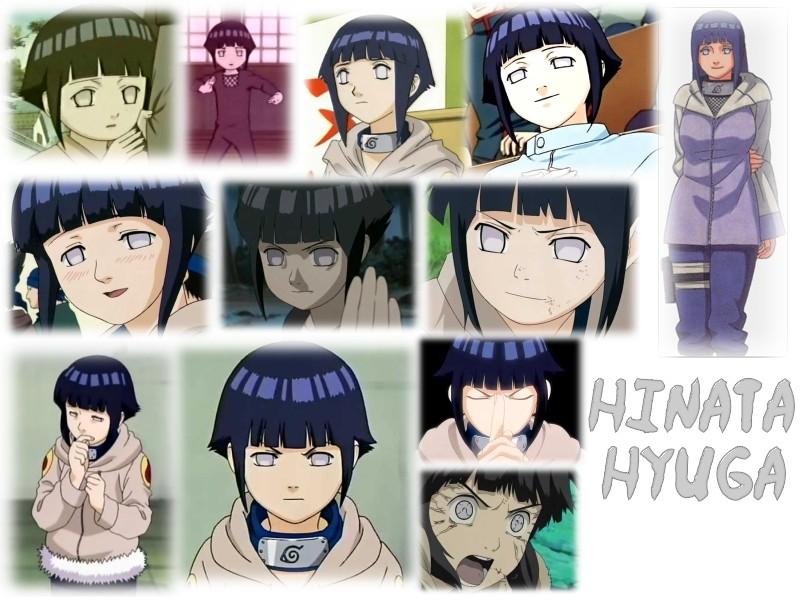 Naruto : la présentation des personnages Hinata11