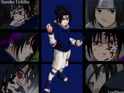 Naruto : la présentation des personnages Sasuke10