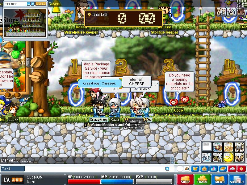 some old pic of me in some servers Maple014
