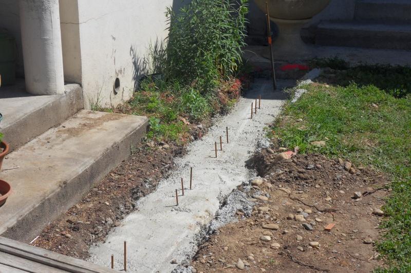 Création d'un extension pour inclure la terrasse dans la maison Sdc14810