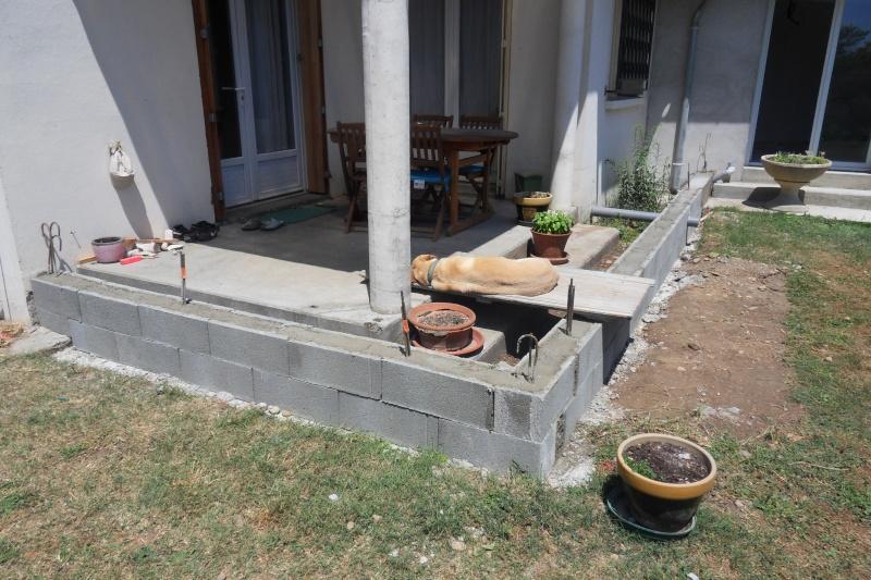 Création d'un extension pour inclure la terrasse dans la maison Sdc14811