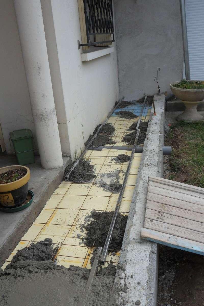 Création d'un extension pour inclure la terrasse dans la maison Sdc14812