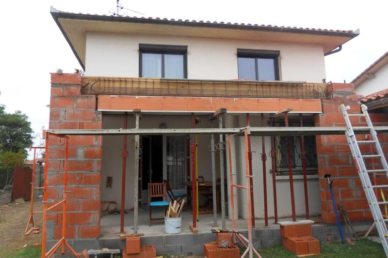 Création d'un extension pour inclure la terrasse dans la maison Sdc15610