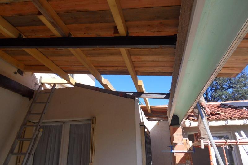 Création d'un extension pour inclure la terrasse dans la maison Sdc15611