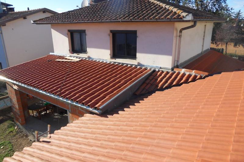 Création d'un extension pour inclure la terrasse dans la maison Sdc15711