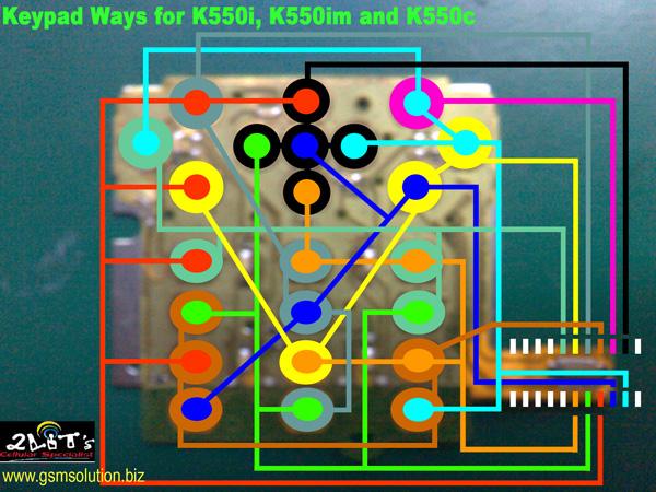 K550i keypad ways K550i_10