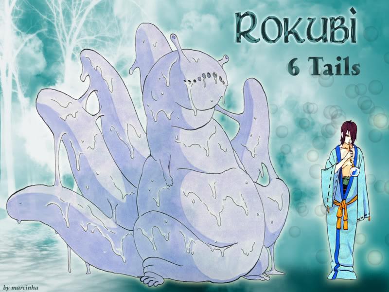 RAIJUU (6 COLAS) Rokubi10