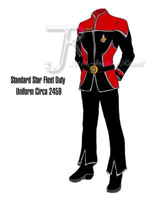 Uniforms for the Fleet Fb615e11
