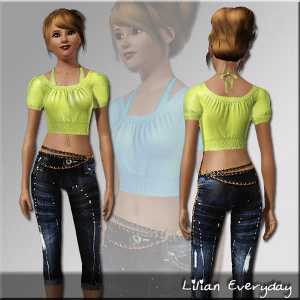 Повседневная одежда (комплекты с брюками, шортами) Lsr362
