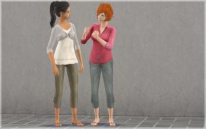 Повседневная одежда (юбки, брюки, шорты) - Страница 2 Lsr365