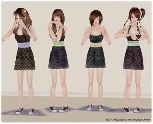 Повседневная одежда (платья, туники, комплекты с юбками) - Страница 3 Lsr388