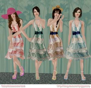 Повседневная одежда (платья, туники, комплекты с юбками) - Страница 4 Lsr392
