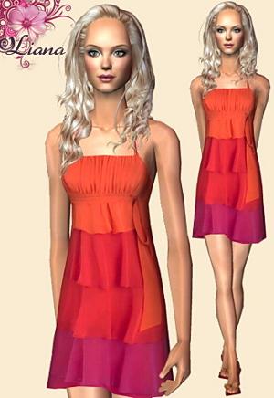 Повседневная одежда (платья, туники, комплекты с юбками) - Страница 4 Lsr425
