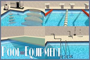 Декор для бассейна, пляжа W-600140
