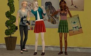 Повседневная одежда (юбки, брюки, шорты) - Страница 2 W-600193