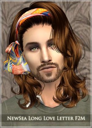 Мужские прически (длинные волосы) - Страница 3 W-600230