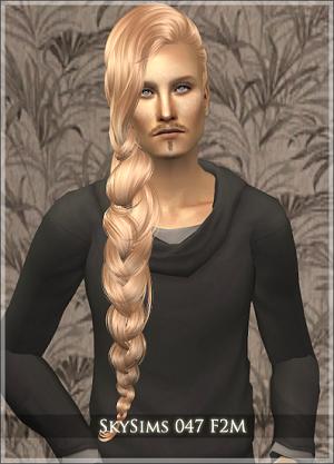 Мужские прически (длинные волосы) - Страница 3 W-600231