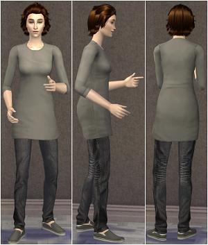 Повседневная одежда (топы, блузы, рубашки) - Страница 3 W-600392
