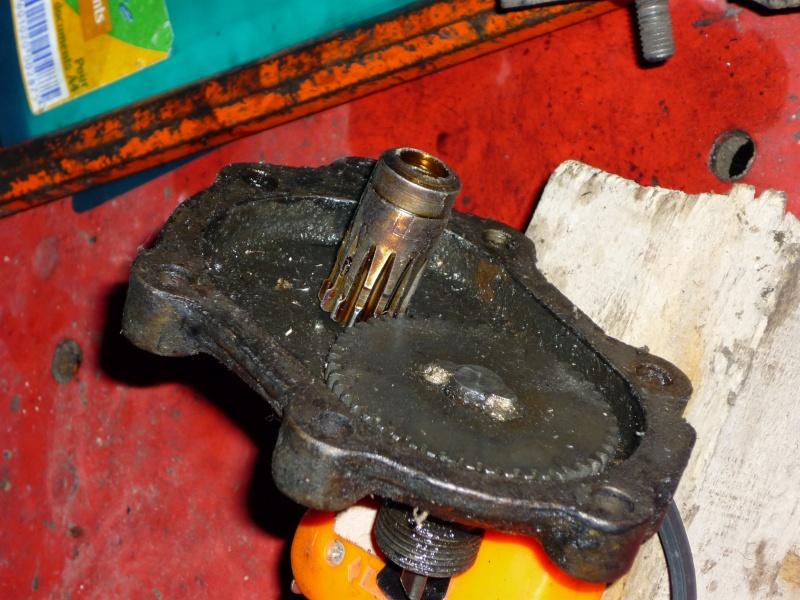 engrenage cable compteur sur boite de 411 P1000412