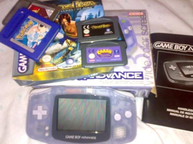 Vendo GBA + 4 Juegos Game_b10