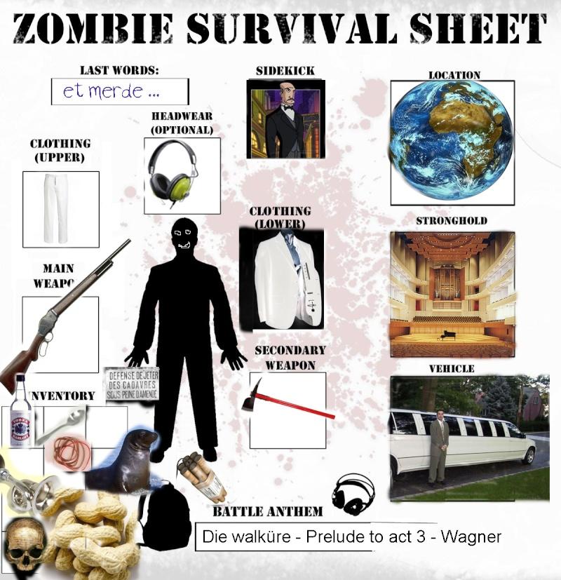 Zombie Survival Sheet Zombie10