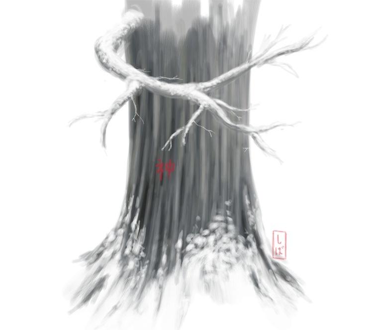 Shiba Kaneki's paintings Snow_t10