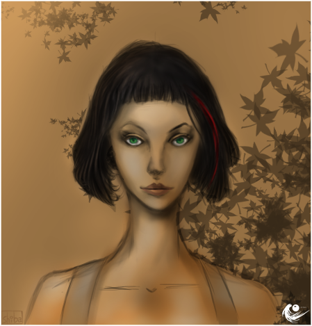 Shiba Kaneki's paintings Woman_10