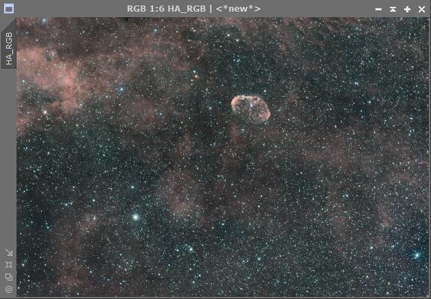 Comment assembler couche Ha et la couche OIII sur mon image RGB 2018-021
