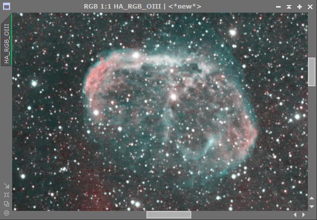 Comment assembler couche Ha et la couche OIII sur mon image RGB 2018-023