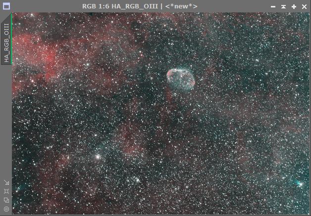 Comment assembler couche Ha et la couche OIII sur mon image RGB 2018-024