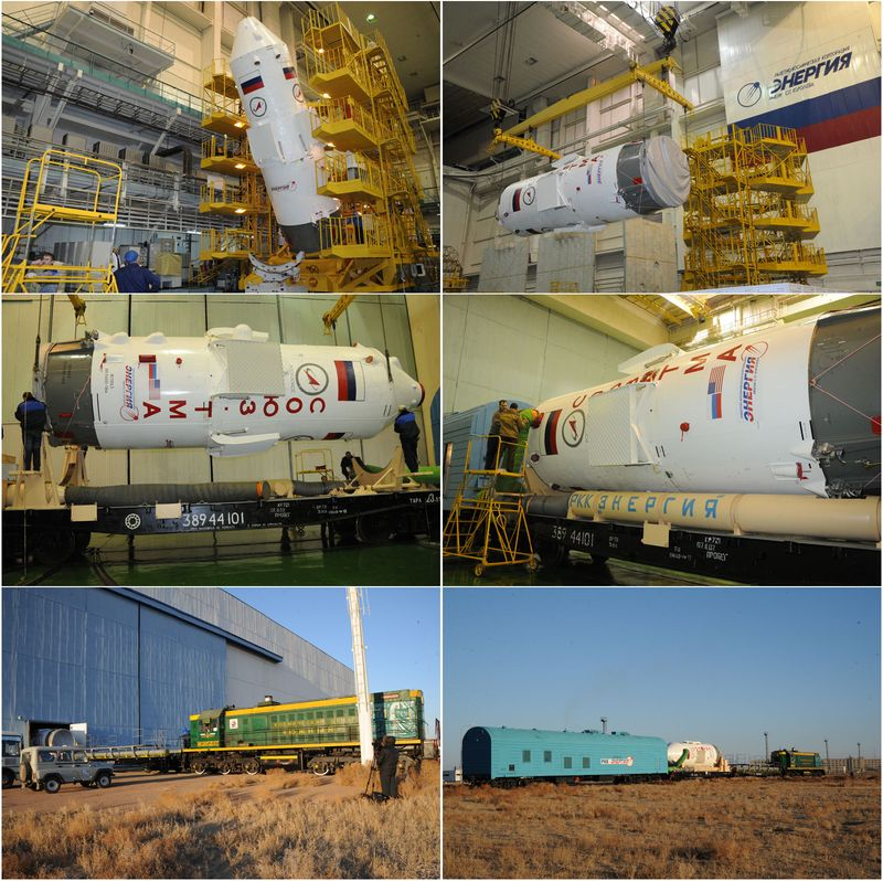 Expedition 34 - Soyouz TMA-07M 12121410
